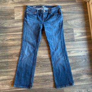 ANN TAYLOR LOFT Petite Modern Boot Cut Jeans 12P